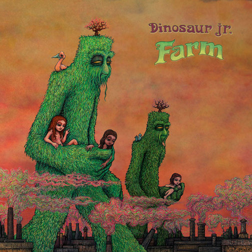 Dinosaur Jr sets June 23 release for 'Farm,' reveals 'Lord of the Rings' cover art