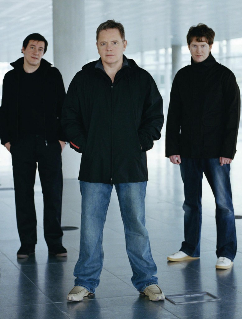Stephen Morris, Bernard Sumner of Phil Cunningham of New Order are Bad Lieutenant