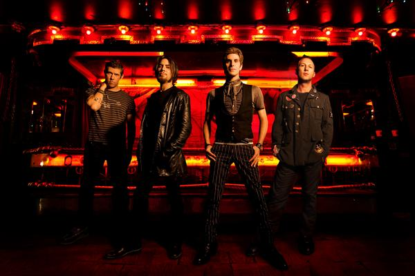 Jane's Addiction: Eric Avery, Dave Navarro, Perry Farrell, Stephen Perkins