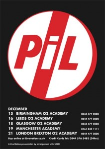 Public Image Ltd. tour dates