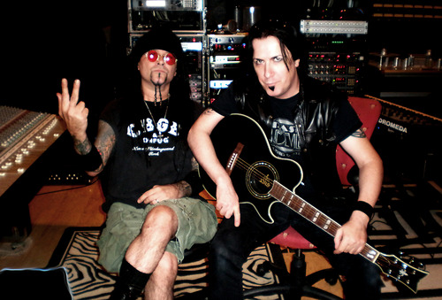 Al Jourgensen and Mark Gemini Thwaite