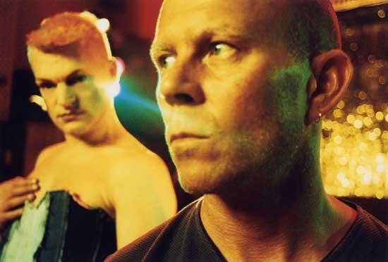 Andy Bell and Vince Clarke of Erasure, circa 2003