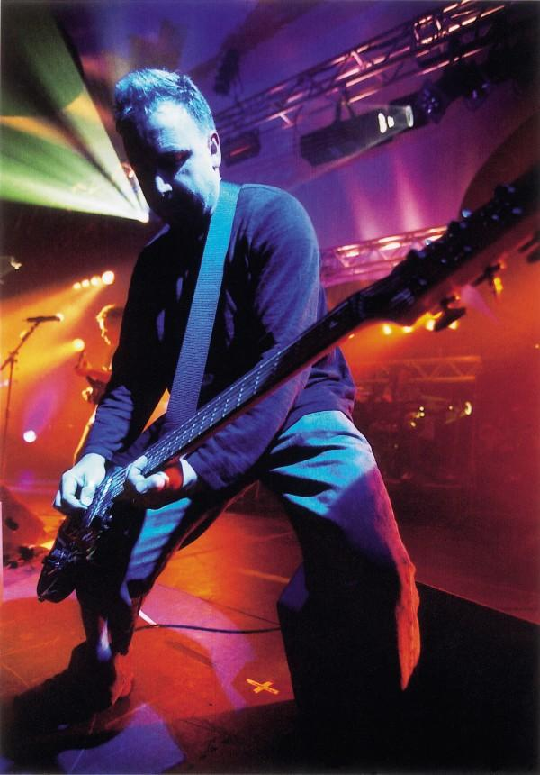 New Order's Peter Hook, circa 2001