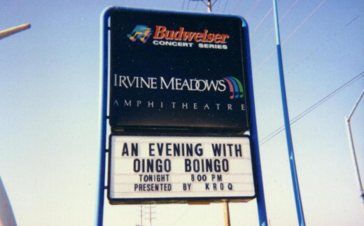 Oingo Boingo at Irvine Meadows