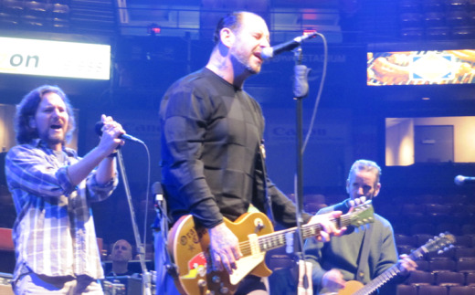 Video: Pearl Jam's Eddie Vedder joins Social Distortion for 'Ball and Chain' in Philadelphia