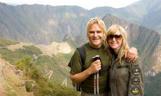 Mike and Jules Peters in Peru, circa 2008 (Photo by Gary Noel)