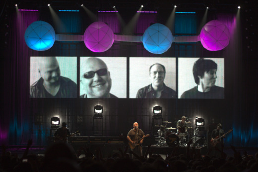 Video: Pixies 'Doolittle' tour stage production