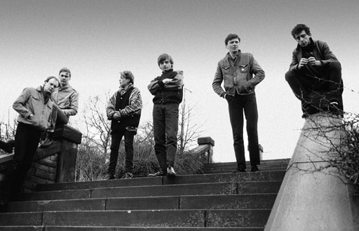 The Fall, circa 1984 (Photo by Michael Pollard)