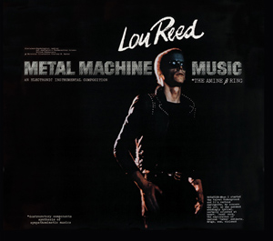 Lou Reed reissues 'Metal Machine Music,' plots 'A Night of Deep Noise' European tour