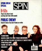 The B-52s, Spin, March 1990
