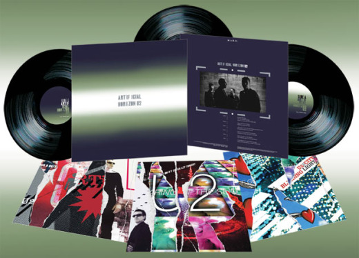 U2's 'Artificial Horizon' remix album to be released as limited-edition triple vinyl set