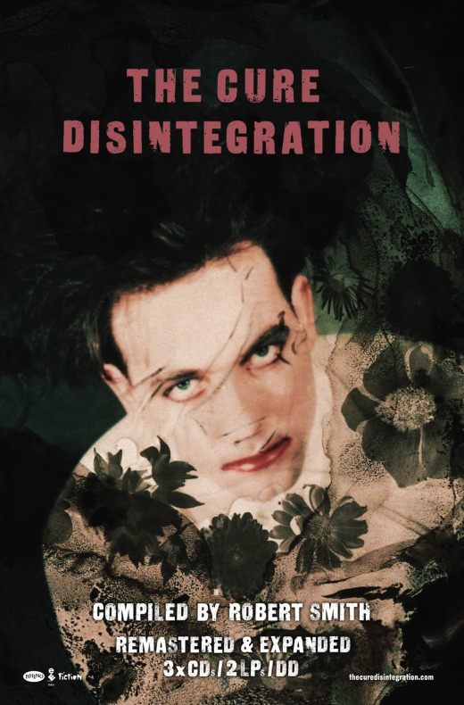 The Cure, 'Disintegration' poster
