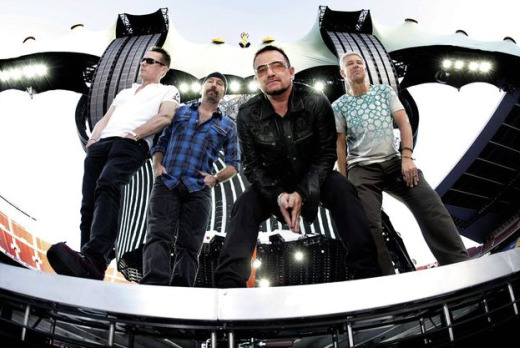 U2 postpones 360° Tour launch in Salt Lake City after Bono undergoes back surgery