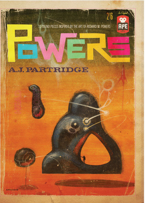 Audio: XTC's Andy Partridge debuts 'Powers,' 'aural sculptures' inspired by sci-fi artist