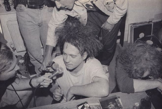 'Cure FM': Robert Smith at The Cure's 1990 pirate radio broadcast