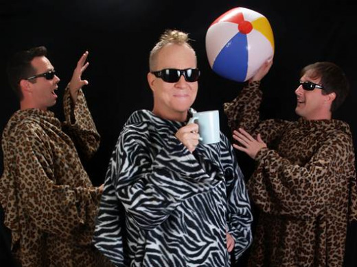 The Superions, featuring Fred Schneider of the B-52s