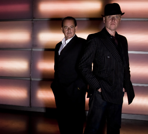 Heaven 17's Martyn Ware and Glenn Gregory
