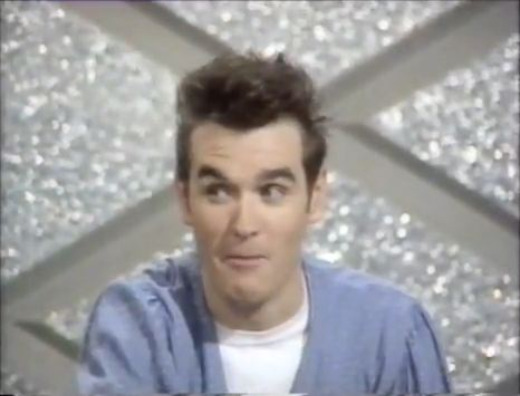 Vintage Video: Morrissey appears on the BBC's 'Pop Quiz' game show on May 26, 1984