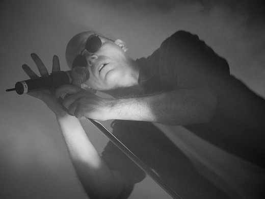 Sisters of Mercy's Andrew Eldritch / Photo by Flickr user Spiggycat, 2008