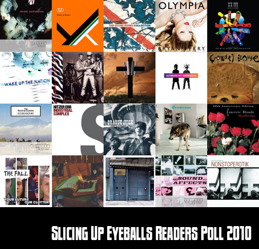 Slicing Up Eyeballs Readers Poll 2010: Vote for best new albums, reissues of the year
