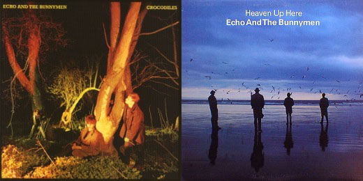 Echo & The Bunnymen, 'Crocodiles' and 'Heaven Up Here'