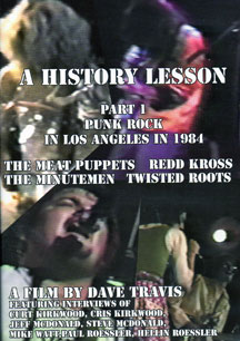 Video: 'A History Lesson Part 1: Punk Rock in Los Angeles in 1984′ DVD preview trailer