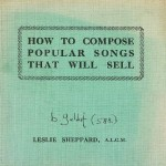 Bob Geldof, 'How to Compose Popular Songs That Will Sell'