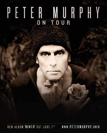 Peter Murphy to release 'Ninth' album in June, finalizes 29-date U.S. tour this spring