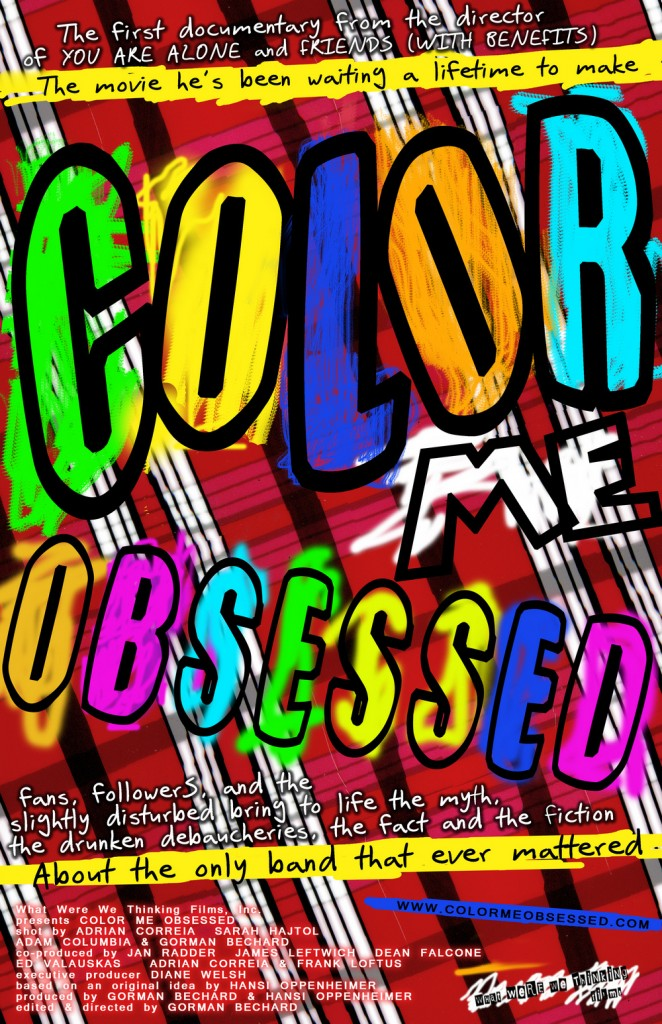 'Color Me Obsessed'