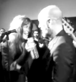 Video: Michael Stipe and Patti Smith perform R.E.M.'s 'Everybody Hurts' in New York City