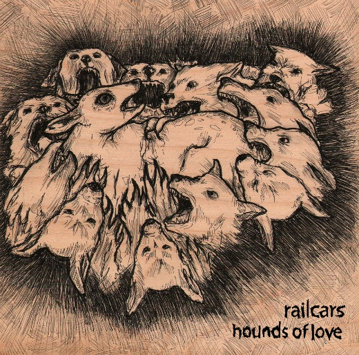 Stream 3 tracks from Railcars' noise-rock cover of Kate Bush's 'Hounds of Love'