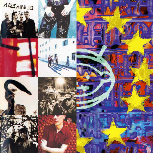 U2, 'Acthung Baby' and 'Zooropa'