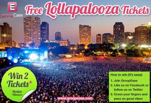 Contest: Win free Lollapalooza tickets