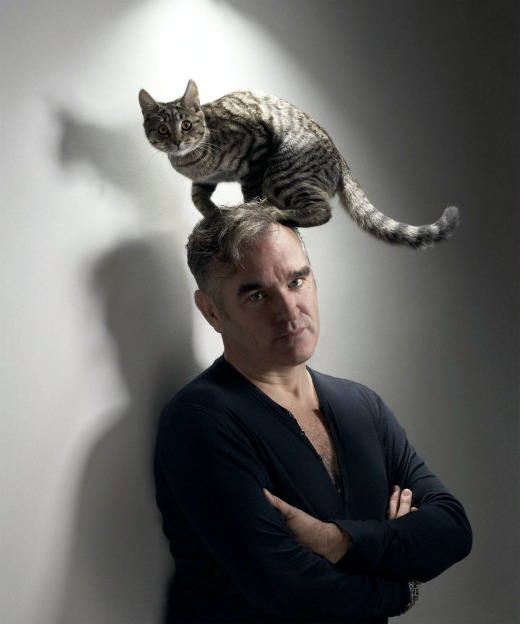 This Week in Morrissey: Attacked by a dog! Frisking fans for meat! Debuting a new song!