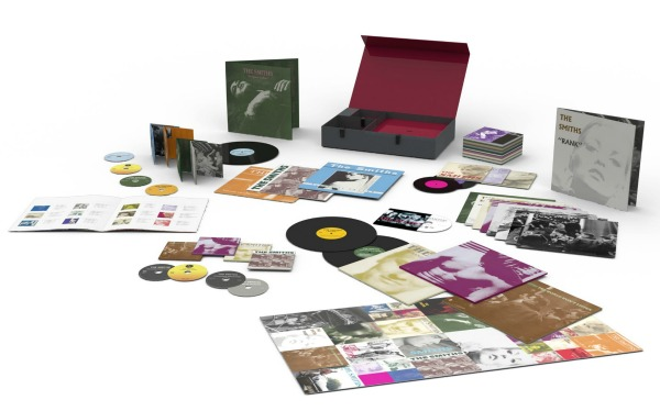 'The Smiths — Complete' box set: 8 albums on vinyl, CD; plus 25 7-inch singles, DVD