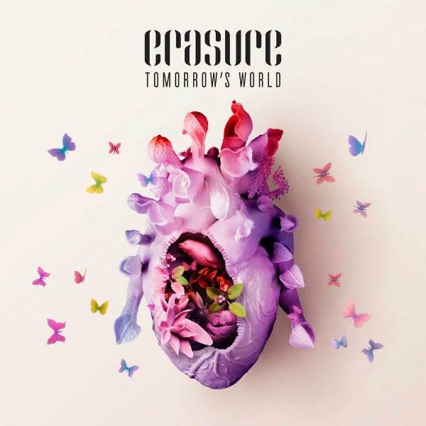 Erasure reveals cover art, final tracklist for 'Tomorrow's World' — due in October