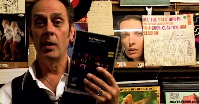 Video: Peter Murphy goes DVD shopping at Amoeba Music for 'What's In My Bag?'
