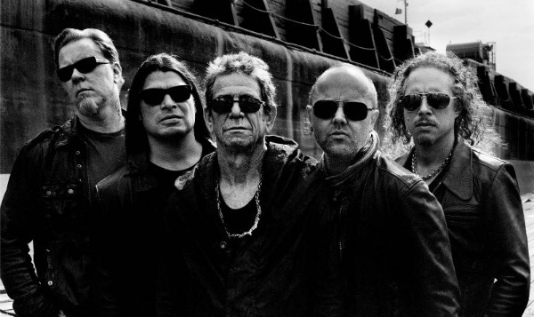 Stream: Lou Reed & Metallica, 'The View'