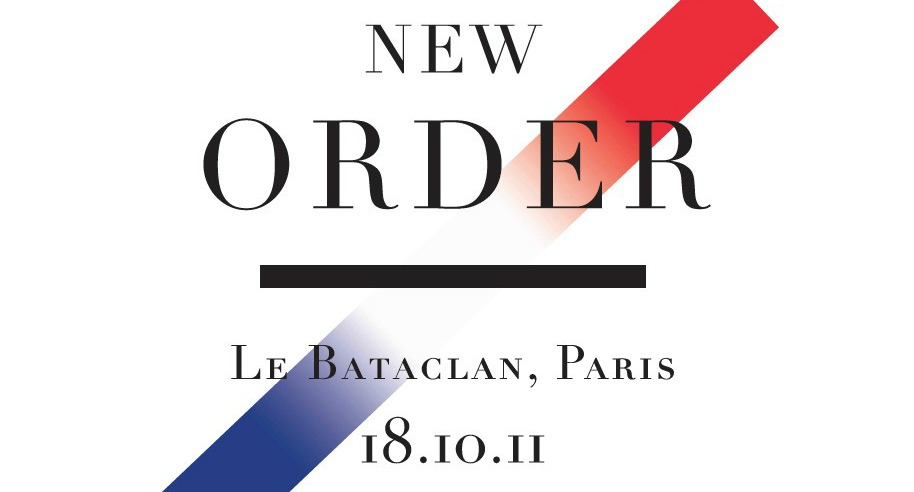 New Order taps Peter Saville to design charity posters for next week's reunion concerts