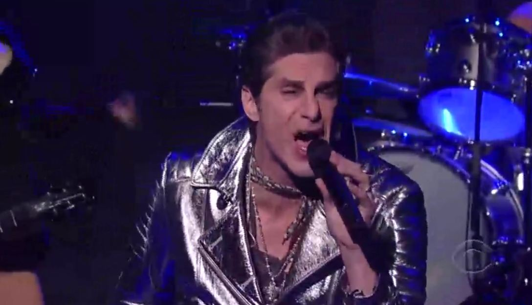 Video: Jane's Addiction plays 'Underground' on 'Late Show with David Letterman'