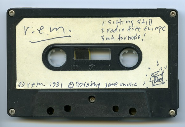 Stream: R.E.M. 'Radio Free Europe' original Mitch Easter mix from 'Cassette Set' demo
