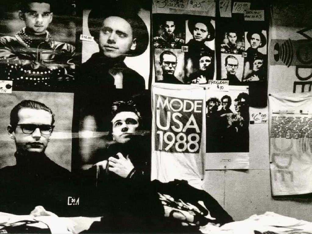 Vintage Video: Depeche Mode, rare 8-minute 'film in progress' reel of '101' footage