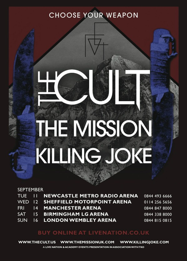 The Mission Band Tour Dates