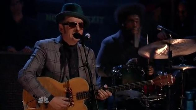 Video: Elvis Costello and The Roots cover Bruce Springsteen&#8217;s &#8216;Brilliant Disguise,&#8217; &#8216;Fire&#8217;