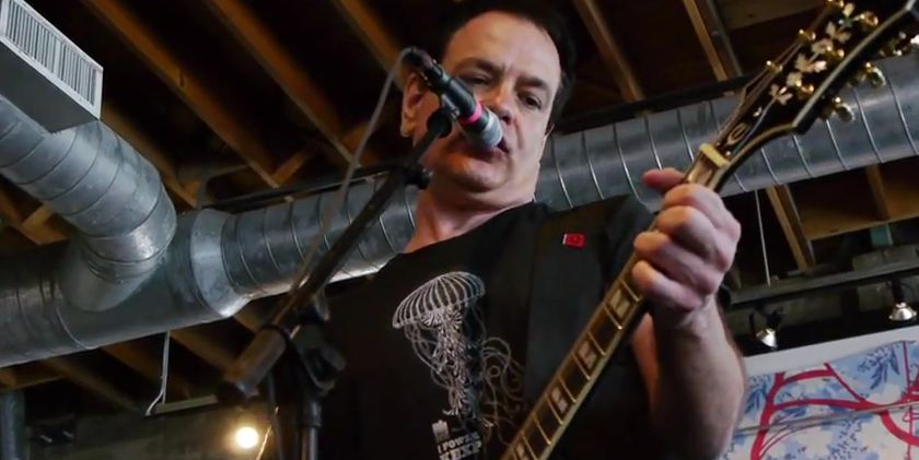 Video: The Wedding Present at SXSW — full KEXP set at Mellow Johnny's Bike Shop
