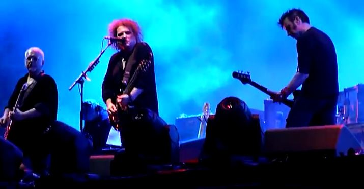 Video: The Cure debuts guitarist Reeves Gabrels, digs out rarities at Pinkpop Festival