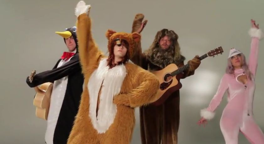 Video: Florence + The Machine cover Talking Heads' 'Wild, Wild Life' in animal costumes