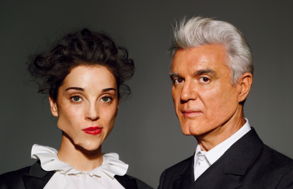 David Byrne, St. Vincent announce 'Love This Giant' album, tour — download free MP3