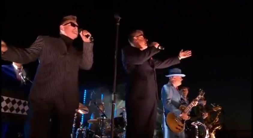 Video: Madness performs 'Our House,' 'It Must Be Love' on roof of Buckingham Palace