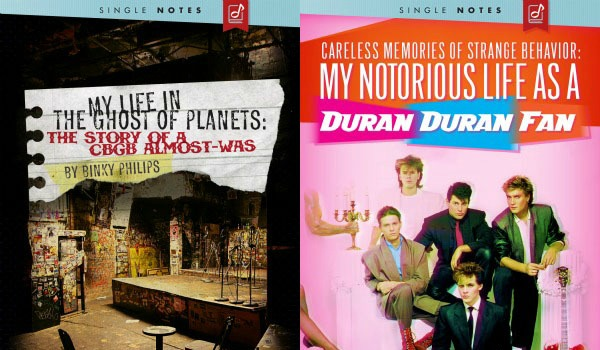 Rhino debuts new 'Single Notes' eBook series with titles on Duran Duran, CBGB's scene